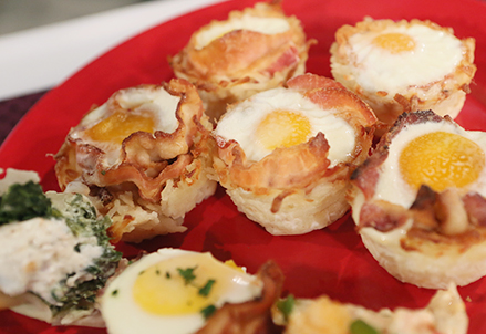 Egg-Bacon-Hash Brown Cups