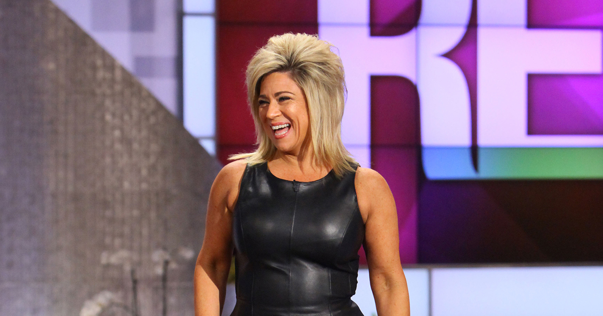 Chattin it up with theresa caputo thereal com