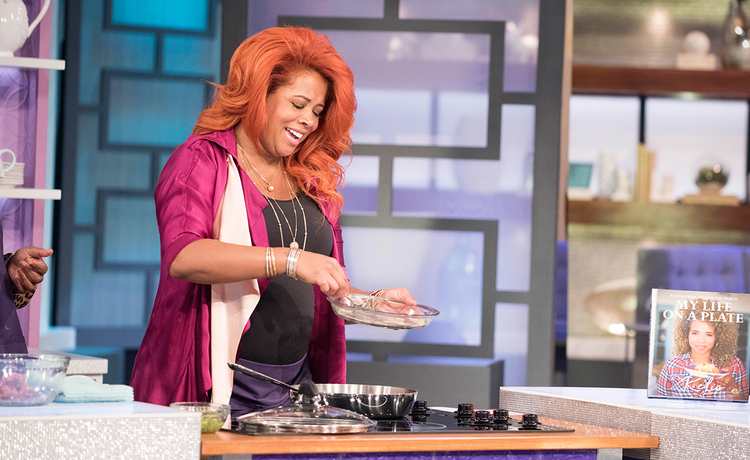 The real a daytime talk show with co hosts adrienne bailon loni