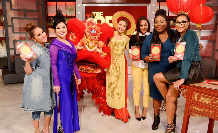 Monday on 'The Real': Celebrating Chinese New Year with Mama Mai!
