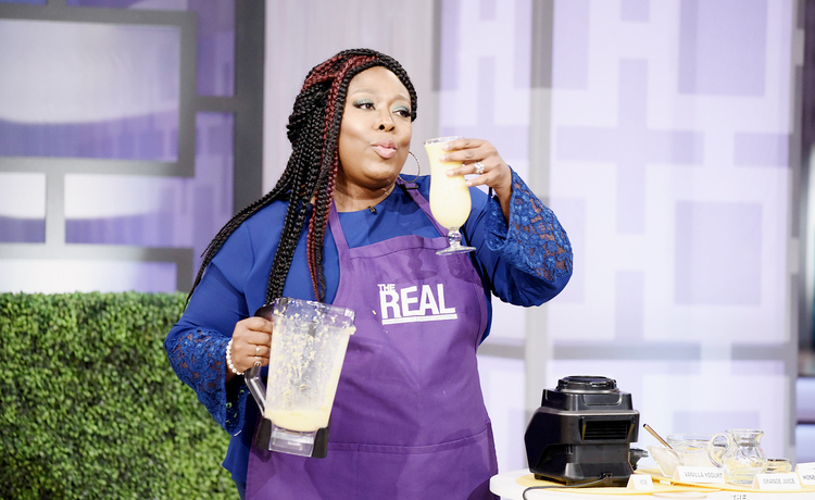 Friday on 'The Real' — Have a Nice Sip!