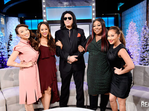 Monday on 'The Real': We're Keeping It REAL with Gene Simmons