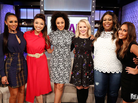 Monday on 'The Real': Guest Co-Host Mel B, Kristen Bell!