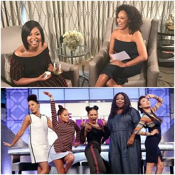 "Today on #TheReal, @TameraMowryTwo chats with former ""Sister, Sister"" guest…"
