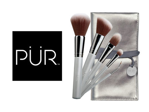 Win a PÜR Pro Tools 5-Piece Brush Collection