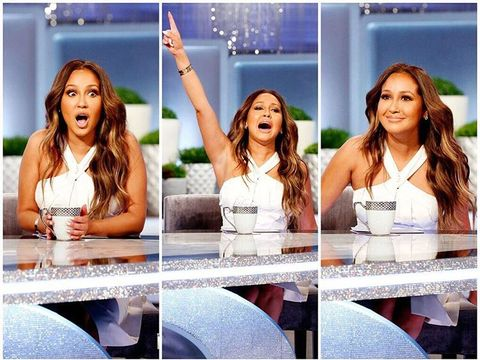 @AdrienneBailon's dream has come true... @JLo is at #TheReal! Tune in for her…