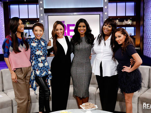 Wednesday on 'The Real': Guest Co-Host Michelle Williams, Denise Boutte