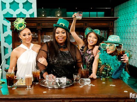 Friday on 'The Real': It's St. Patrick's Day!